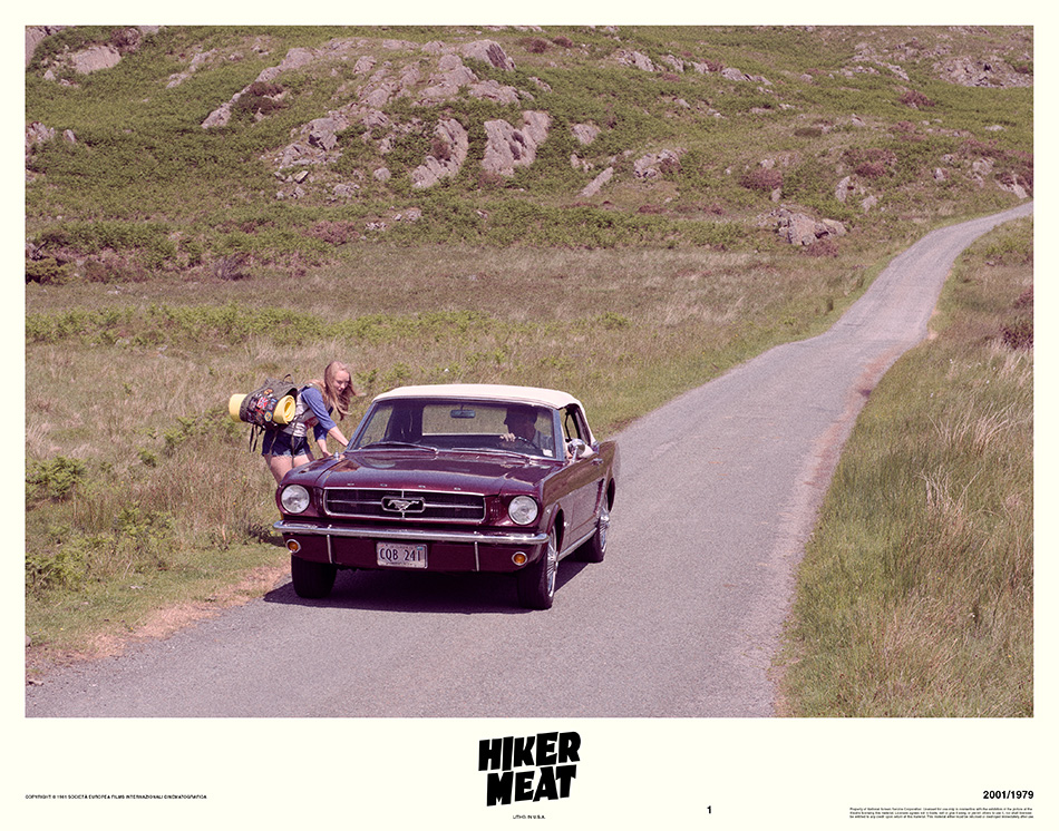 Hiker Meat Lobby Card Hitchhiker