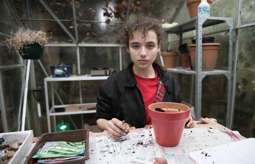 Production stills Sasha's Trial