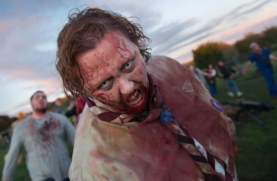 Production stills Zombie Apocalypse
